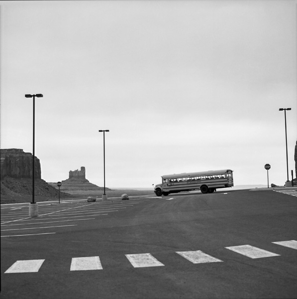 Monument Valley School Bus